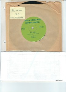 70_WIBC March on a 45 RPM