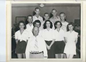 Mid-40's_Ruth Peterson far left